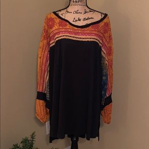 **Re-Posh** Free People Tripoli Printed Tunic